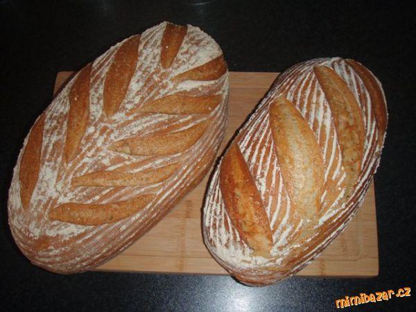 Domaci chleba peceny v troube