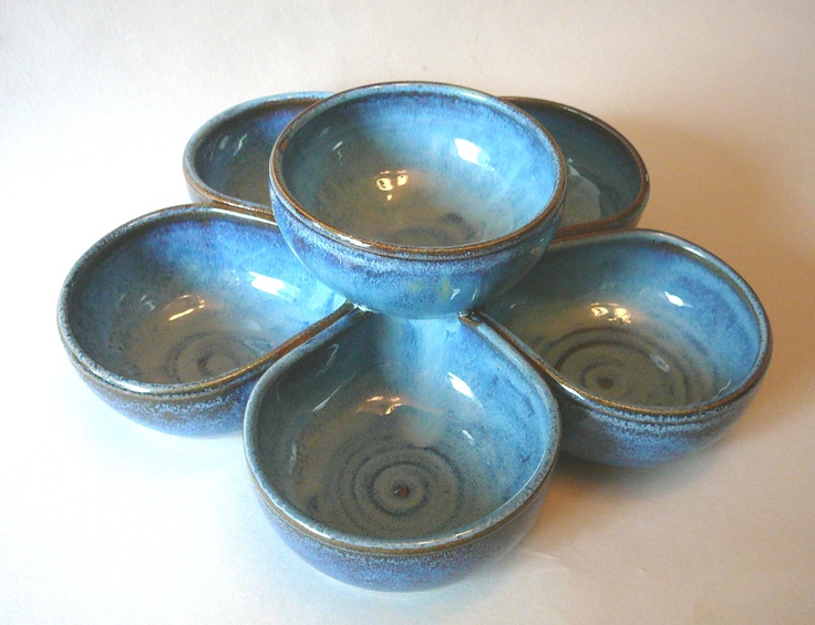 tiered bowls...great for veggies or fruit and dip