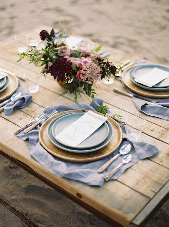 Desert dune organic wedding inspiration
