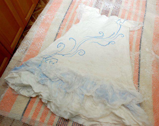 My experience with prefeltom: baby sundress - Fair Masters - handmade, handmade