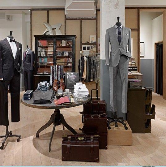 1000  images about Men's suit shop interiors on Pinterest