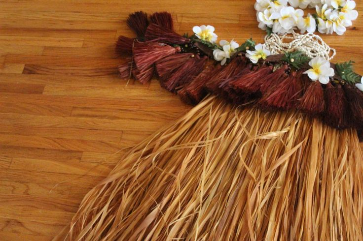 diy hula skirt | hula skirt tahitian skirt, kids craft, kids hula skirt, paper bag hula ...