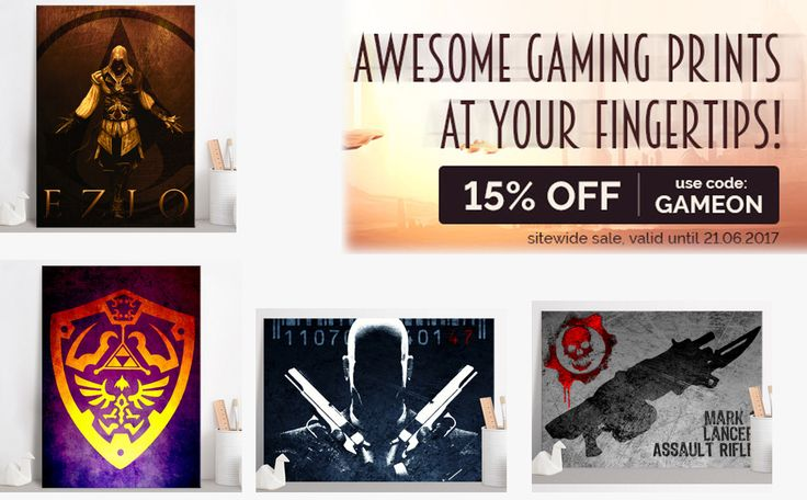 15% OFF sitewide until Wednesday (21st June)! Use code GAMEON  . #gaming #posters #gamingposter #gamer #gamersgifts #gamergifts #gamerhome #homedecor #homegifts #kidsgifts #gamers #zeldaposter #hitmanposter #legendofzeldaposter #displate #metalprint #mancave #giftsforhim #giftsforher #kidsgifts