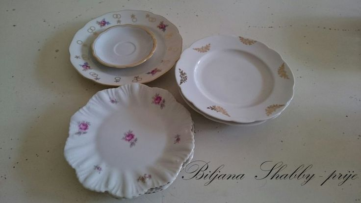 Romantic China Plate Crafts