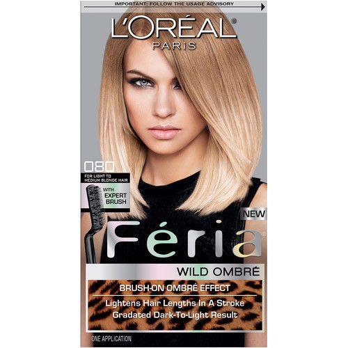 L'Oreal Paris Feria Wild Ombre 080 Light to Medium Blonde Loreal Expert Brush #Loreal