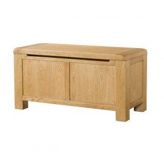 Fairfield Oak Blanket Box
