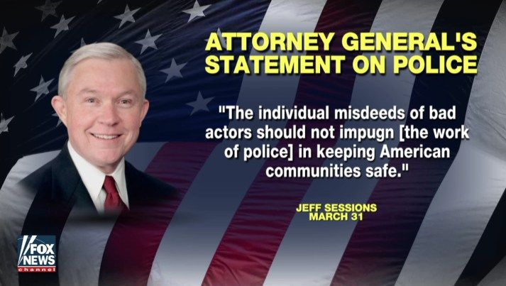 Sessions Orders DOJ To Revisit Agreements Obama Forced On Local Police Departments - BB4SP