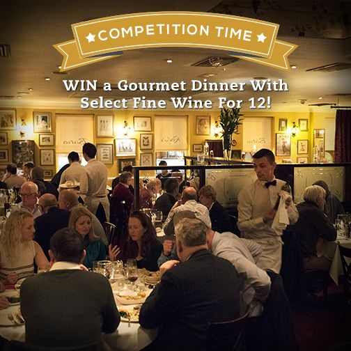 Yes you heard it right, it's not a typo. WIN dinner and wine for 12 and enjoy a night that you will never forget all compliments of Rolys Bistro!!!   To be in with a chance of winning our biggest and best FREE giveaway to date, simply click on this ad and enter our competition!  The winner will be announced live from Roly's this coming March 2017.