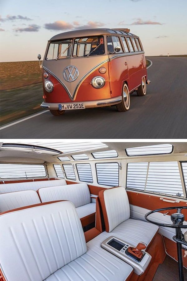 Volkswagen Converts Vintage Microbus Into Modern Electric Vehicle In 2020 Volkswagen Electric Cars Vehicles