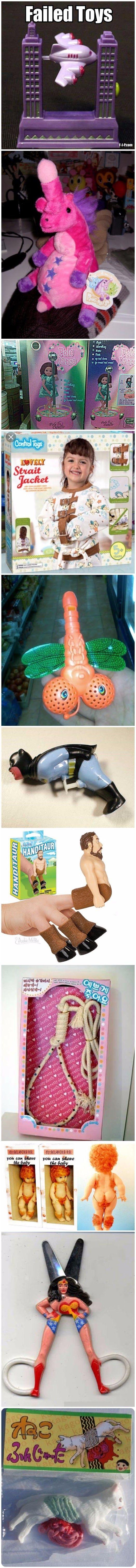 Funny Failed Toys