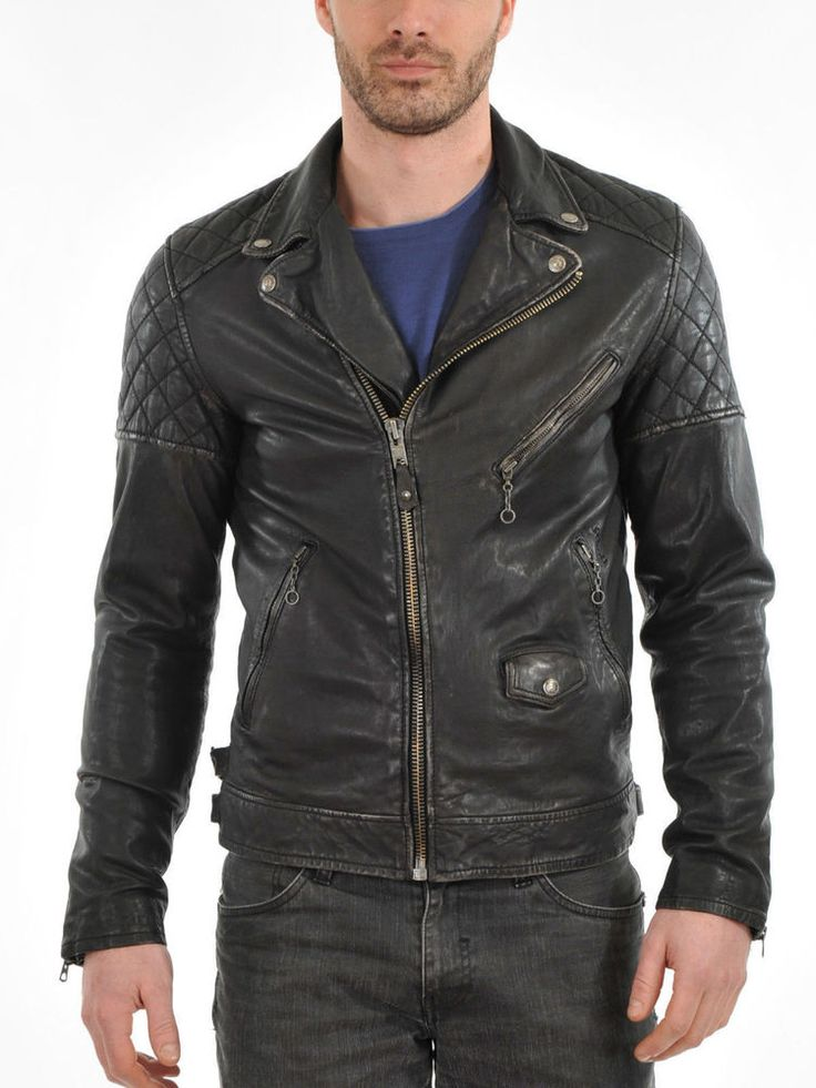 277 best Men Fashion images on Pinterest | Lambskin leather jacket ...