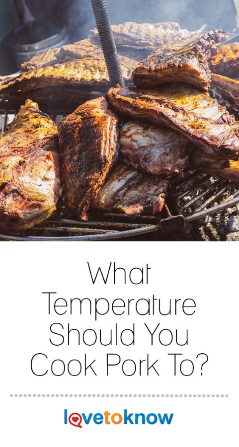 Cooking pork at the proper temperature is essential in creating a flavorful and juicy end result. If you cook it at the incorrect temperature for the method and type of pork, there's a good chance you'll overcook or undercook it. #Pork #cookingtips #lifehack | What Temperature Shoul You Cook Pork To? from #LoveToKnow