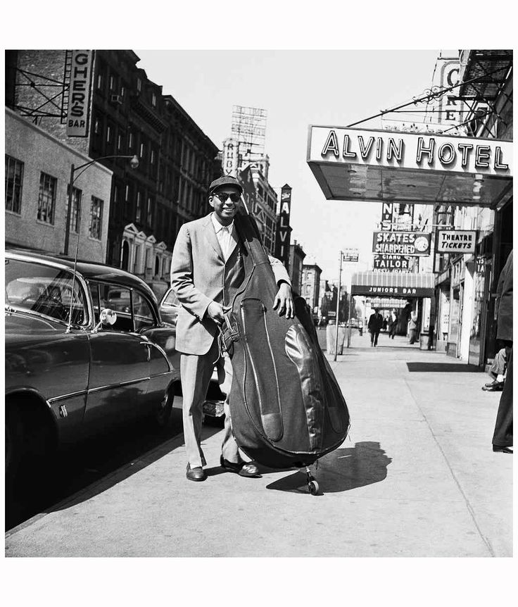 "milestrumpet1: ""Alvin Hotel, NYC Bob Dylan Paul Chambers """
