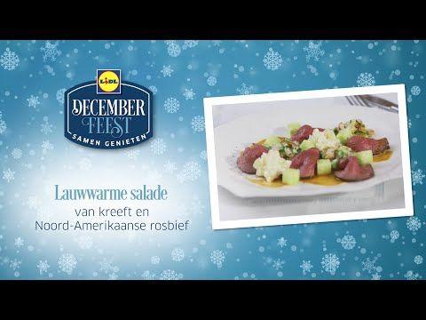 Lauwwarme salade van kreeft en Noord Amerikaanse rosbief - YouTube