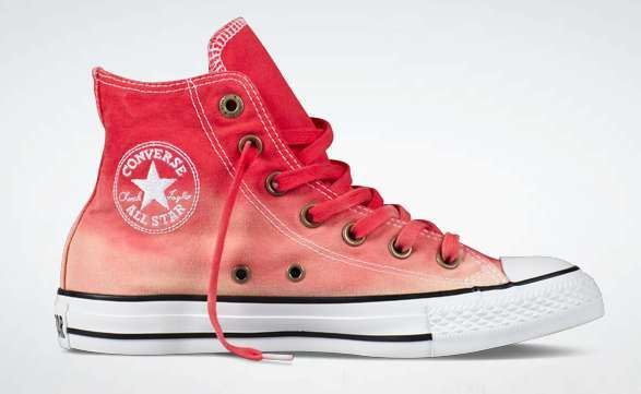 Hipster Leather Sneakers : Chuck Taylor Hollis Hi