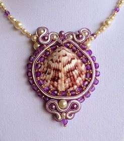 French Mermaid Collection : Hand Embroidered Soutache Jewelry