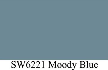 sherwin williams 6221 moody blue exterior door color front