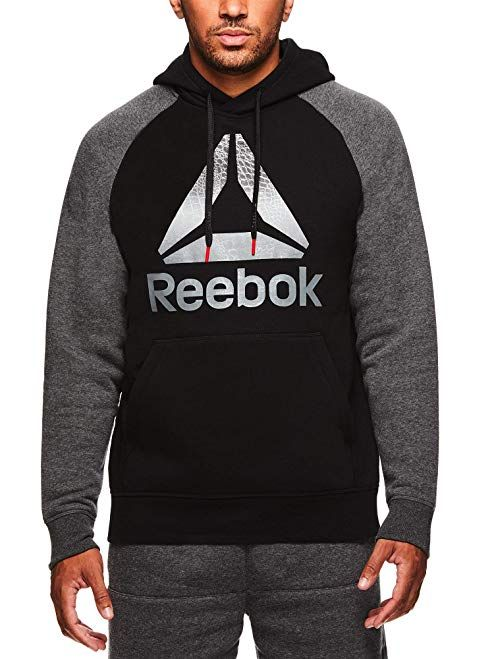 e3e5c0bff22 Reebok Men s Performance Pullover Hoodie - Graphic Hooded Activewear  Sweatshirt Review