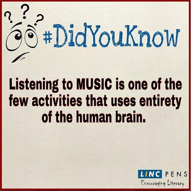 #Fact #DidYouKnow #Music #activities #brain
