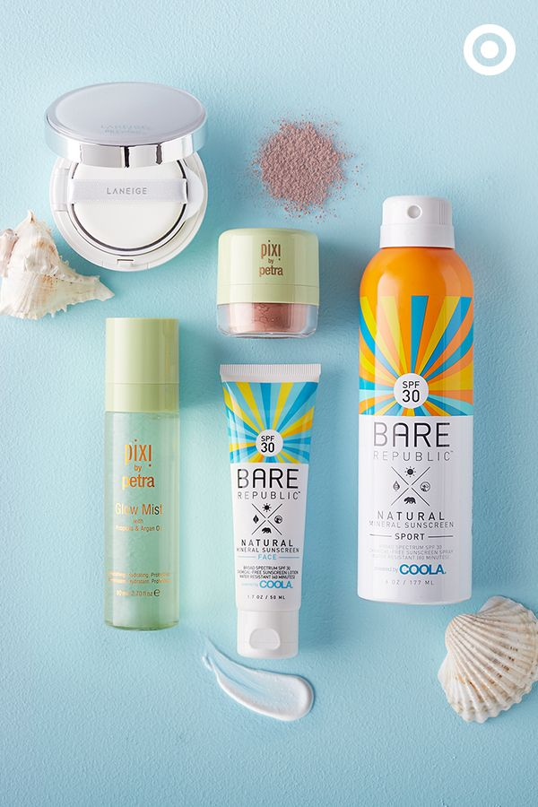 Get your summer glow on with these beauty must-haves. Bare Republic sunscreen…