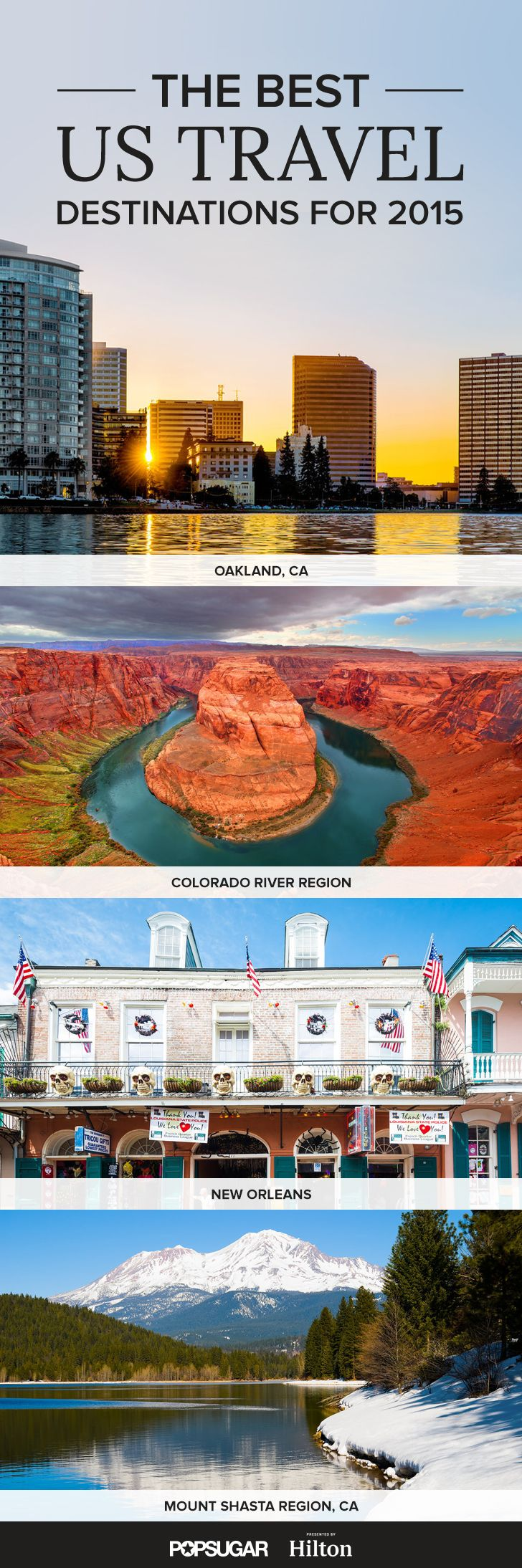 The 10 Places in the US You Absolutely Have to Visit in 2015 - except Queens. I'm from NY, there's nothing to really see in Queens. Try Manhattan!