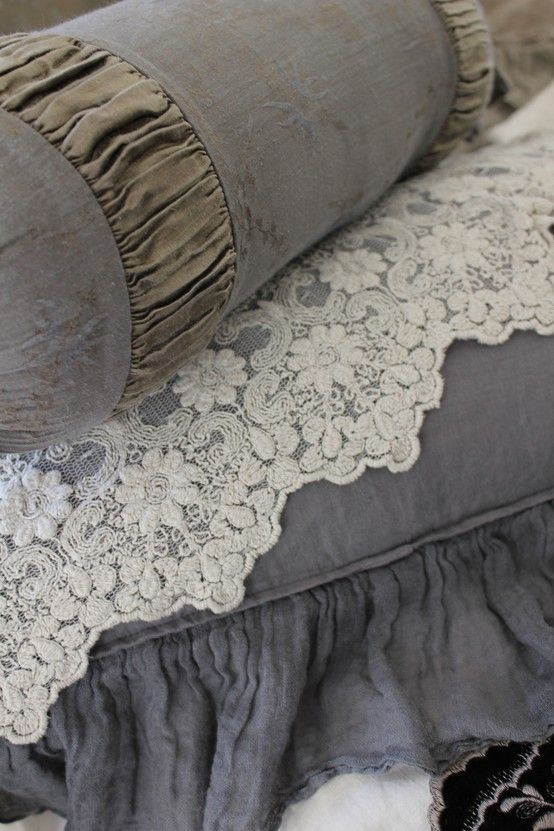 grey & lace...
