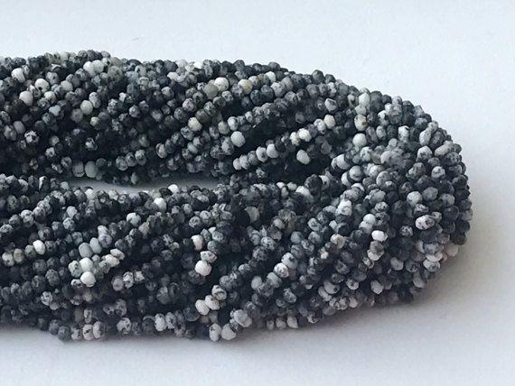 WHOLESALE 5 Strands Dendrite Opal Beads Dendrite by gemsforjewels
