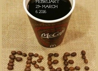 McDonald's Canada FREE Coffee 2016