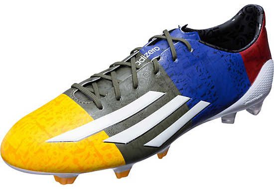 adidas adiZero Messi FG Soccer Cleats - Neon Orange