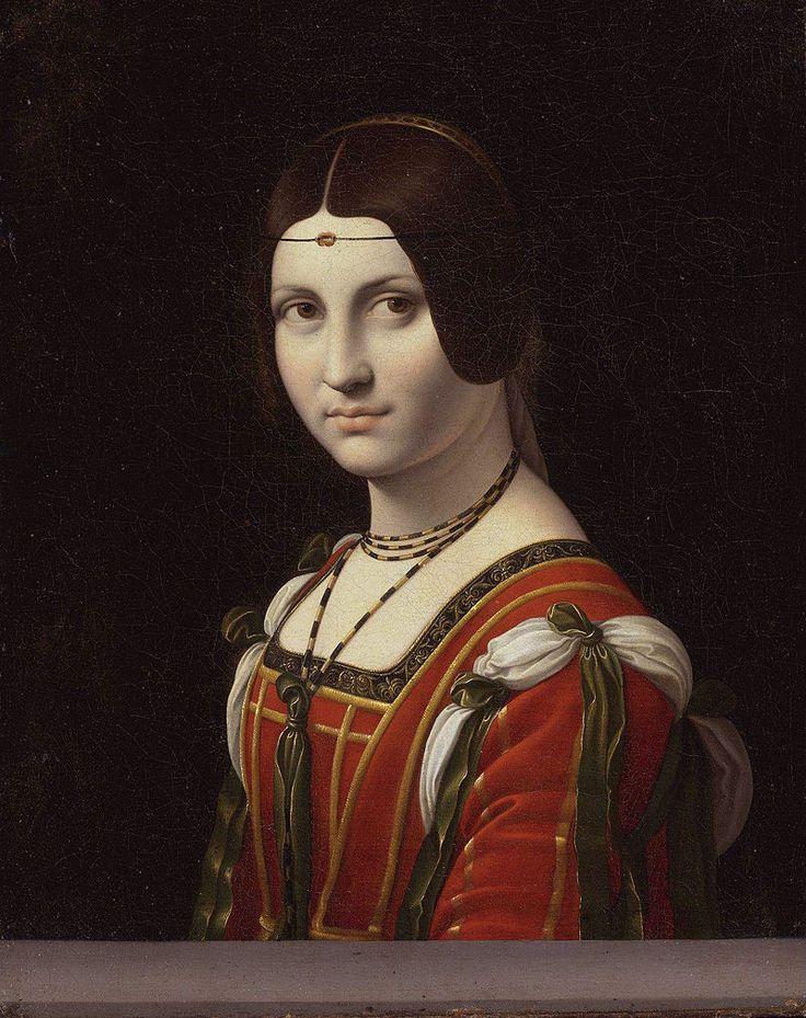 La Belle Ferronnière - 1490-96 - Léonard de Vinci - le Louvre - Paris