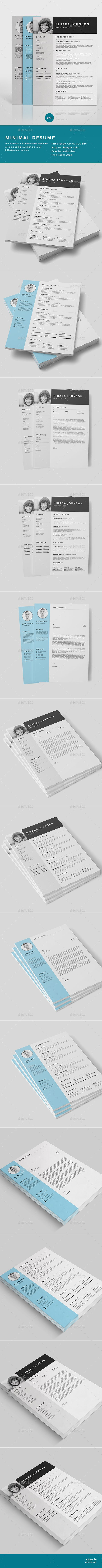 buy resume by rcstudio on graphicriver resume the perfect way to make the best impression strong typographic structure and very easy to use and customise - Buy Resume Templates