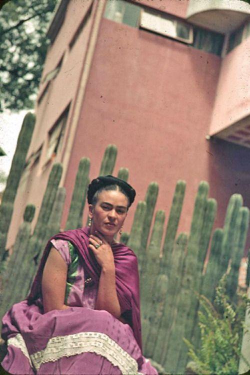 .Artists, Secret Gardens, Inspiration, Cacti, Blue House, Frida Kahlo, Fridakahlo, People, Frida Khalo