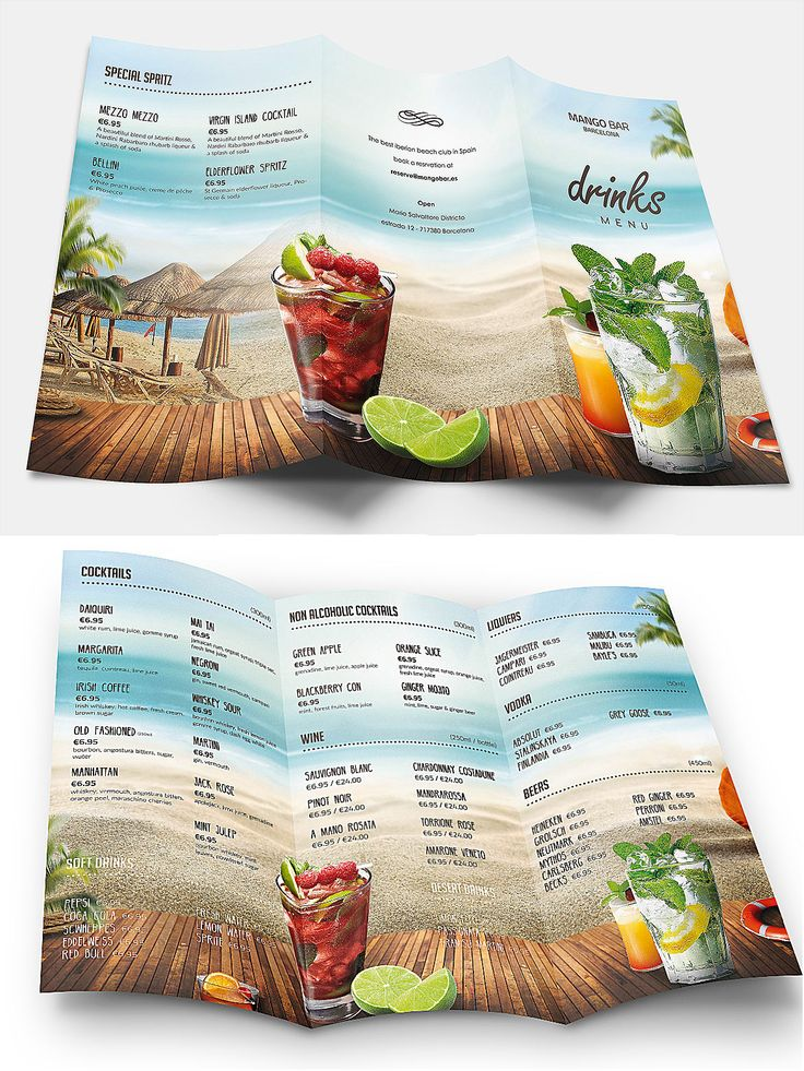 Best ideas about menu templates on pinterest