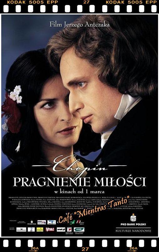 """Cine Sala """"Charles Chaplin"""" - Chopin, un amor imposible (2002) - Ingresa a la sala pulsando el Link: http://cine-sala-a01-jcp.blogspot.com/2016/04/chopin-un-amor-imposible-2002-dir-jerzy.html"""