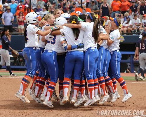 Univ Of Florida Softball Earns Second Straight National Championship