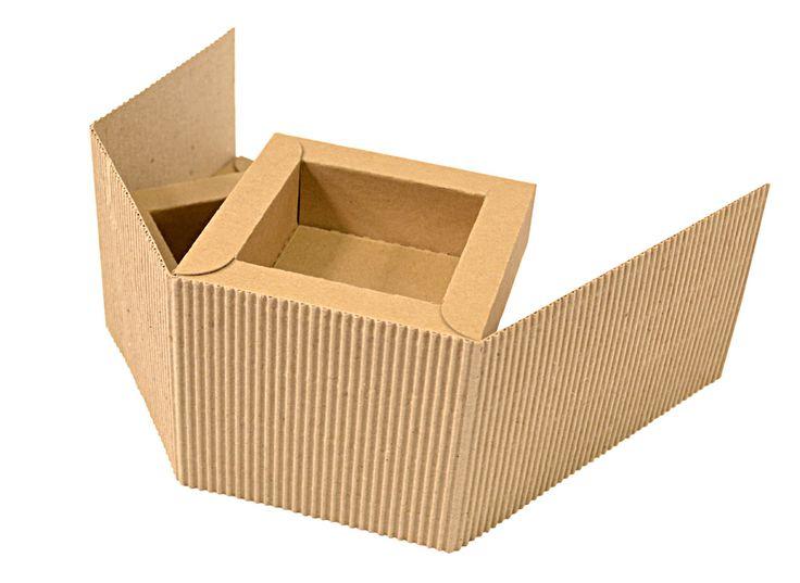 Фирменная коробка-трансформер для сувениров.