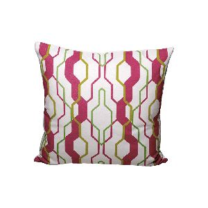 Geometric Cushion - Design 5- geometric design, in fresh colours, at A & Co