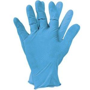 Rękawiczki w salonach kosmetycznych. Post: http://przetestujmyrazem.blogspot.com/