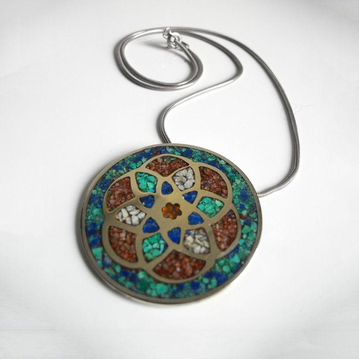 Mandala Infininita #joyas #jewlery #handmade #mandala #accesorios #moda #fashion