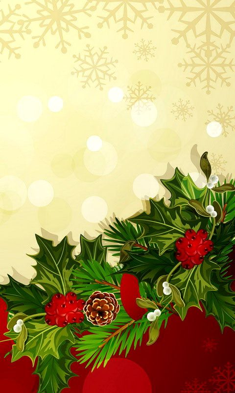 Download 480x800 «Christmas Designs» Cell Phone Wallpaper. Category: Holidays