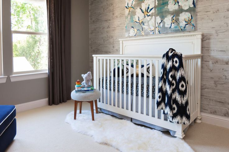 Project Nursery - Modern Rustic Gray and White Nursery - Project Nursery
