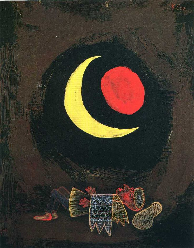 Paul Klee, Strong Dream, 1929