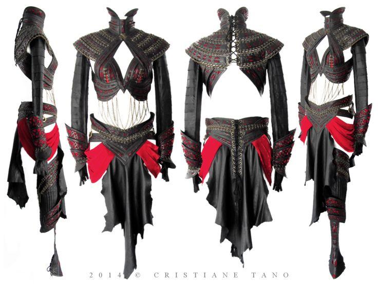 Sith Warrior Costume by crissycatt on deviantART