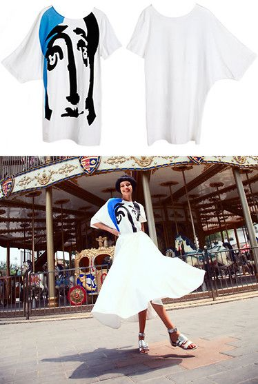 Ugly Face T-Shirt~ (by Victoria  Turley) http://lookbook.nu/look/3906408-Ugly-Face-T-Shirt