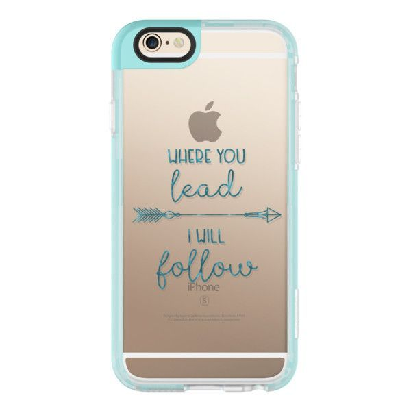 Where you lead- I will follow - Gilmore Girls - Transparent - iPhone... ($40) ❤ liked on Polyvore featuring iphone case