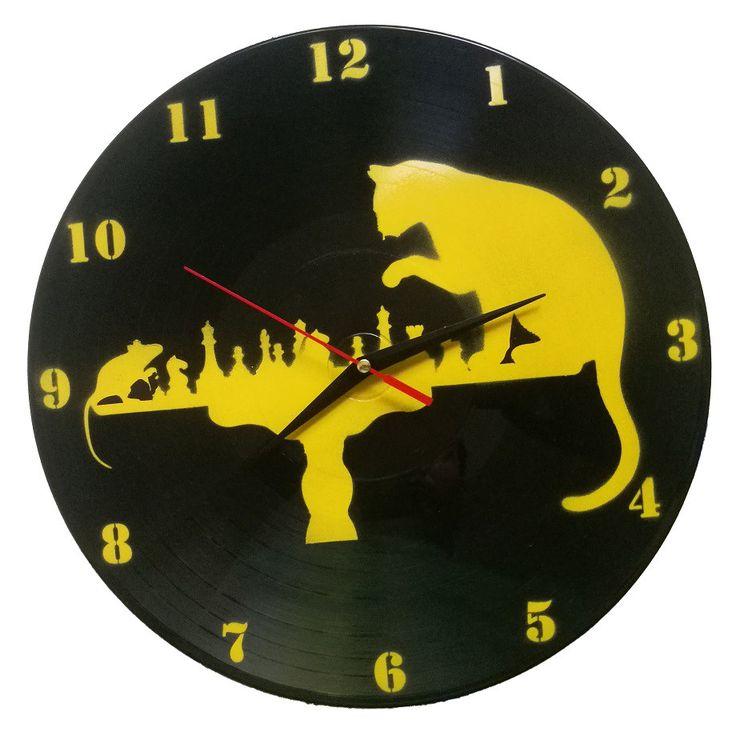 Ceasuri de perete personalizate - DEADLY CHESS