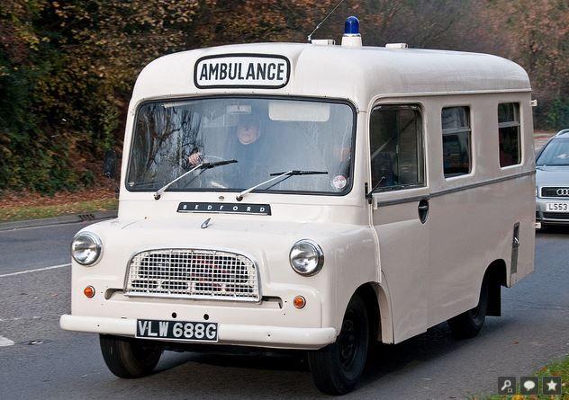 1969 Bedford CA Ambulance