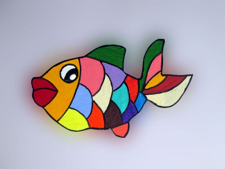 Imãs de geladeira - Peixes 027 / Magnets - Fishes 027
