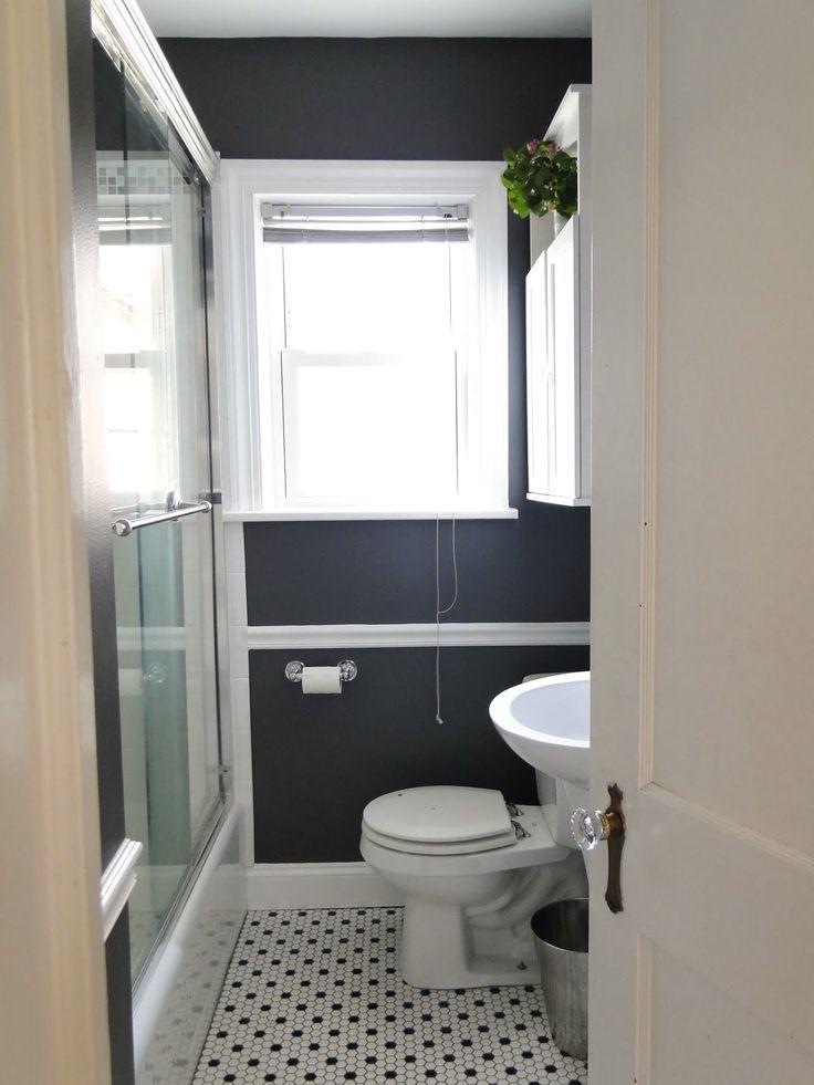 1000 images about jeff neil bathroom on pinterest grey for Martha stewart small bathroom ideas