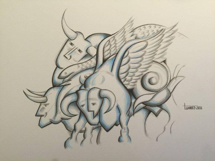 Artist: Tamés, Title: De toro un poco. Para más información: https://www.facebook.com/pg/MADartmx/photos/?tab=album&album_id=1191156194228133
